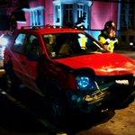 Colisión vehicular en Osorno Bilbao con Matta,  sin lesionados, daño en los vehículos,  tránsito normalizado. http://t.co/bCRyCOX5ok