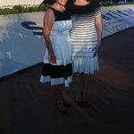Con mi amiga la Sra. @MarianaZBorge presidenta del DIF Quintana Roo. ¡Bienvenida a Solidaridad! http://t.co/kAWoqvE37y