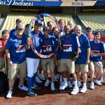 .@SpecialOlympics Team USA Softball team. #Dodgers #ReachUpLA http://t.co/9vq0btiCUb