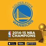 Relive every moment of @Warriors historic championship run... available for digital download: http://t.co/MG0BU5C98R