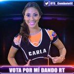 @CarlaECombate es una de las nominadas, ¡para salvarla vota dándole RT a este tweet! Sólo contarán los RTs, no citas. http://t.co/V6DAUcXvDG
