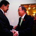 Presidente Maduro llegó a Caracas luego de defender derechos de Venezuela en la ONU http://t.co/vf9xgGPPRx http://t.co/pi1nZSz8AF