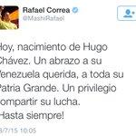 Sabes que Ecuador ya valió verga cuando el presidente felicita la dictadura y apoya la opresión y la pobreza en Vzla. http://t.co/YVsSPOdc5t