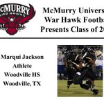 We want to welcome @dereunjackson to the McMurry War Hawk Family! #WarHawkReady http://t.co/S7m6ORd8rz