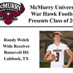 We want to welcome Randy Welch to the McMurry War Hawk Family! #WarHawkReady http://t.co/ObjbB7pMvi
