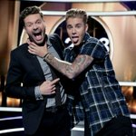 Its all fun and games on the #KnockKnockLive stage with @ryanseacrest and @justinbieber! http://t.co/LlHT0DipaM