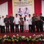 #Depok @Humas_Depok Halal bihalal Tk Kota Depok bersama muspida,toga,tomas @Nur_Mahmudi @pemkotdepok http://t.co/cQyzwBNfsJ