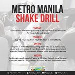 The #MMShakeDrill is happening tomorrow! Are you prepared? http://t.co/3Zq9kvcQ9a