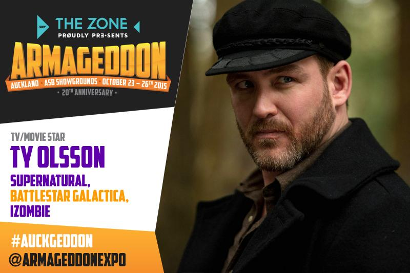 Benny is sad he missed Wellington so @TyOlsson is coming to #Auckgeddon #Awesomenessness http://t.co/8HVkDm1Ff3 http://t.co/z9UA0PJSpt