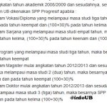 Harus baca nih :| RT @infoUB: Ketentuan SPP Progresif #RegistrasiUB http://t.co/COTOCEJYE8