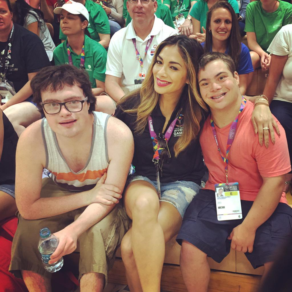 So Matthew on the right stole my ❤️ today at the @SpecialOlympics, Sam on my left told me he's already taken..???? http://t.co/cbs8ewtHU3