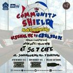 #CommunityShield ARSENAL vs CHELSEA. Minggu, 2 Agustus 2015, Og: 19.00 WIB @SG7_CornerCafe . BIRUKAN !! http://t.co/NybrTOssQq