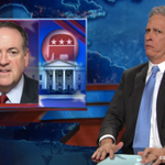 Jon Stewart is literally speechless over Mike Huckabees Holocaust comments http://t.co/NT2eYxFQlF http://t.co/8CxO6WBf57