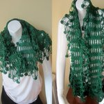 Crochet wrap scarf, FOREST GREEN, scarf with fringes, shawl, n… https://t.co/IcHH7earIJ #boho, #crochet #ScarfFringe http://t.co/t3HCQdYmU5