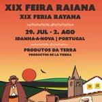#AGENDA: hoy 17:00 h @chromangordo y @grandecano asisten a la inauguración de XIX FERIA RAYANA #CULTURA Idanha-a-Nova http://t.co/bcxErXdB8g