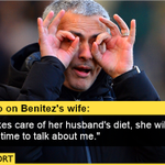 Jose Mourinho V Rafael Benitez This times its very personal. Very personal. http://t.co/nBMlpMudz6 http://t.co/0aZAwGDJkS
