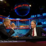 Jon Stewart secretly met with Obama at the White House http://t.co/yl91WYeUFw http://t.co/LoSXtCI5oP