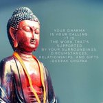 RT @SagesScientists: Our Daily Inspiration: Follow your #Dharma