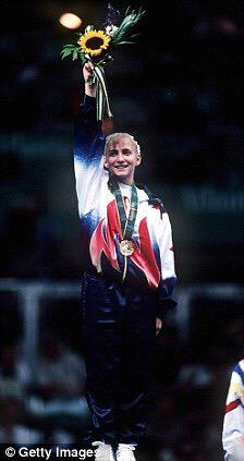19 yrs ago today i had the honor to represent @teamusa on that gold medal podium. #beam #dreamscometrue #usa http://t.co/htz0WX084K