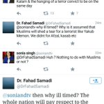 When an Indian Muslim slammed an adarsh liberal journalist on Yakub Memon hanging.. #YakubDebate #YakubToHang http://t.co/VD52OZOakT