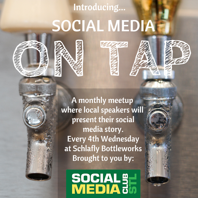 Save the Date! #SMCSTL will soon announce our first Social Media ON TAP event on 8/26 at @Schlafly Bottleworks. http://t.co/uWNOafEkGP