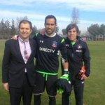 Claudio Bravo confirma la reconciliación y se entrena en el Estadio Monumental. VIDEO » http://t.co/bXDthGQJ6y http://t.co/wfLjYDQkD9