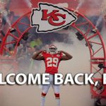 Good morning! So HAPPY @KCChiefs #EricBerry is BACK 8 mos. after cancer diagnosis. WELCOME BACK @Stuntman1429! http://t.co/13afG2EmCm