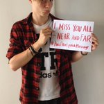 I miss you all – near and far #IsacElliotLipstickMessage http://t.co/3u6UXNLLwr