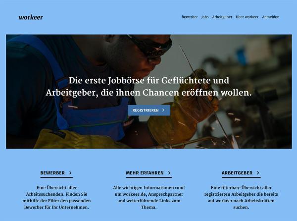 Workeer – Jobbörse für Geflüchtete: http://t.co/jXVR2PuGWl http://t.co/KLQ0c63lHS