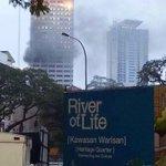 Tahukah anda! bangunan Bukit Aman terbakar pula. Hilanglah bahan bukti skandal 1MDB. http://t.co/7YBhMvzx0P