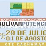#Hoy Inauguración de la #ExpoInternacionalBolivarPotencia en el C.T.E Cachamay de Ciudad Guayana http://t.co/f2PIn1QS0z