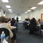"""Attending @HamptonCSchools PD """"creating a culture of hope"""".Teachers are engaged! http://t.co/M0NRBXgvL7"""