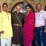 Finished my work in Sooraj Barjatya #PremRatanDhanPayo. What an amazing & delightful journey it has been. THANKS.:)