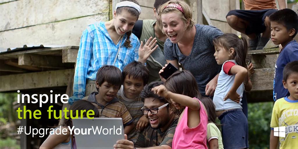 How would you #UpgradeYourWorld? Tweet us with your ideas – we'll bring some to life! http://t.co/DthPPSrKsy http://t.co/SDbEub3WEE