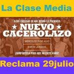 Como está el animo para hoy, 29 julio? tenemos la protesta contra la delincuencia a las 21 horas @GirealaDerecha http://t.co/9CmchwX9XD