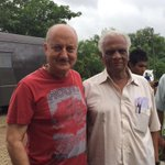 Thanks Zaki Saab, production in charge of #PremRatanDhanPayo. He was there during the making of Saaransh too.:)