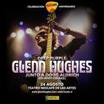 Recuerda que el 24 de agosto festejamos #Futuro26 con Glenn Hughes. Participa por entradas http://t.co/y7wqnfYkhG http://t.co/0MuaCjg5lC