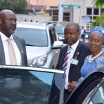 That moment when @dino_melaye becomes the bodyguard coupled with PA to @bukolasaraki wife... @Omojuwa @Ayourb http://t.co/y3of2gdlgc