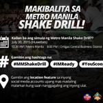 Huwag kalimutang makibalita sa @gmanews at @YouScoop bukas habang #MMShakeDrill. http://t.co/dnNZvLTTCb