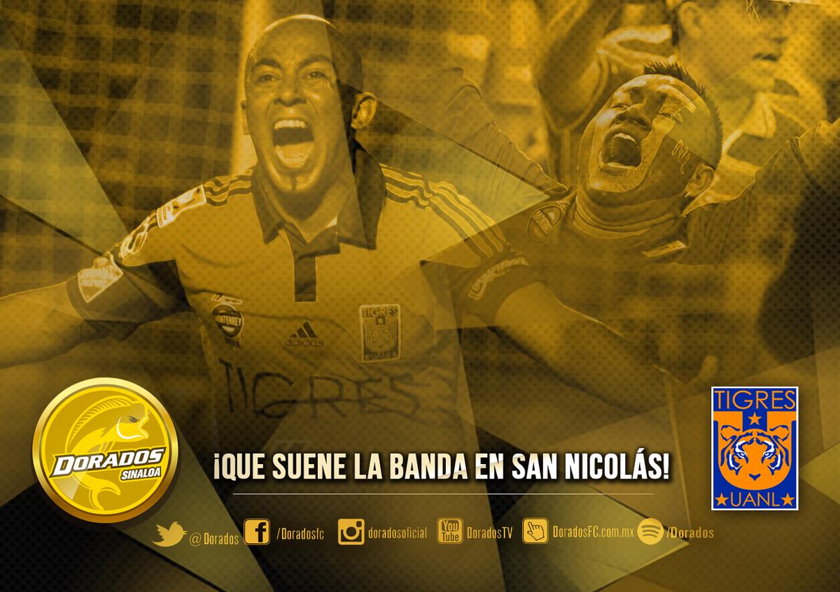 ¡Oye, @TigresOficial! Entre norteños nos entendemos. Hoy... ¡que suene la banda en San Nicolás! #TodoMexicoEsTigre http://t.co/yg0kaoQkch