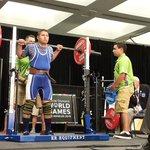 El salvadoreño José Calderón ya participa en pesas #OlimpiadasEspeciales #LA2015 @EDHdeportes http://t.co/rHi8yzb2q8