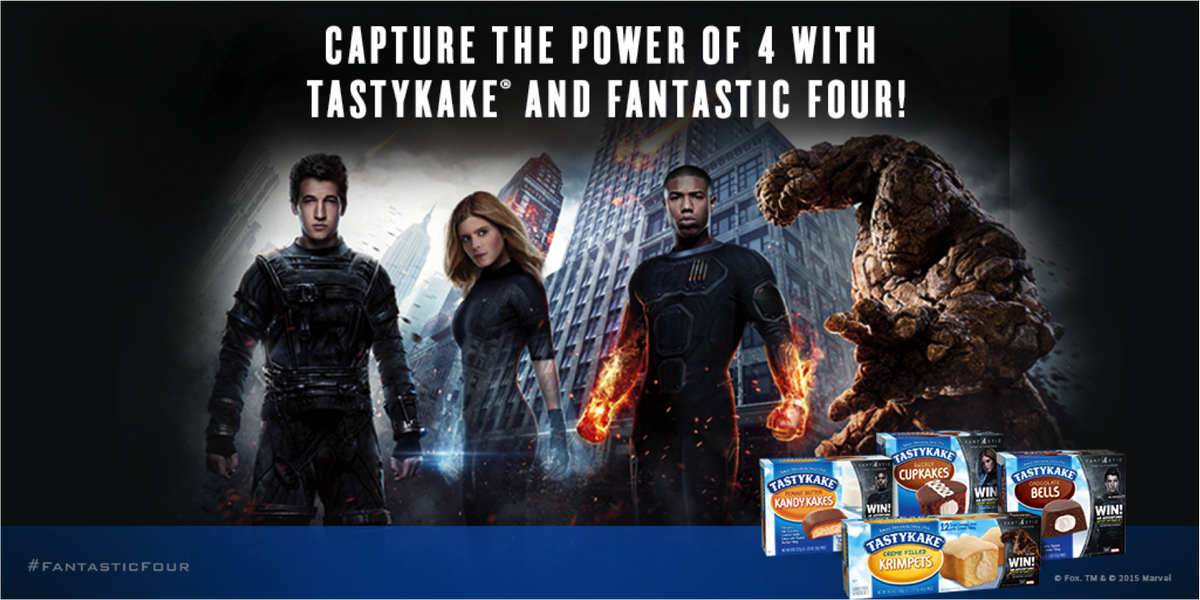 You could win an adventure with #Tastykake & @FantasticFour! NPN, U.S, 18+ Enter: http://t.co/DENGHnTlKl http://t.co/RWVcqaEIkC