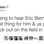 Eric Berry is back on the field and the @nfl community couldnt be happier. Social Recap: http://t.co/ihSG93Pu0y http://t.co/2tuOqwJ3Nt