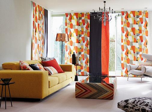 Sliding panels are a great way to show off your fave #fabric like @ScionFabrics Pucci pictured here in all it's glory