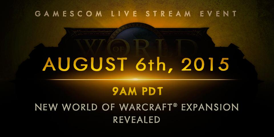 You won't want to miss our #gamescom live stream next week. Watch it at: http://t.co/EejHEemtIU #BlizzGC2015 http://t.co/awhHQik91P