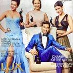 RT @CatherineTresa1: A Lux Beauty Feature with @shrutihaasan @LakshmiManchu @dhanushkraja