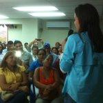 """""""Estamos preparándonos para vencer"""": @MariaCorinaYA culmina asamblea en Calle Las Flores, Puerto La Cruz. #29JL http://t.co/WbrKdfQNiY"""