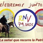 79años de RadioNacionaldeVenezuela,creciendo en toda la Patria y llevando la Verdad de nuestra Identidad¡Felicidades! http://t.co/M6IvnlPpnE