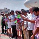 #Acapulco Llega primer vuelo comercial Toluca-Acapulco de temporada http://t.co/63Mdk2nfis http://t.co/YW9vbSkhQP