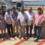 Bienvenidos amigos turistas! Hoy se realizó el vuelo inaugural Toluca - #Acapulco de @viajaVolaris más vuelos! http://t.co/E1GfrXXURj